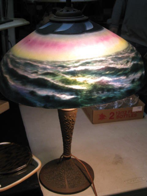"""25: PITTSBURG LAMP CO. """"CONTINUOUS OCEAN"""" PATTERN"""