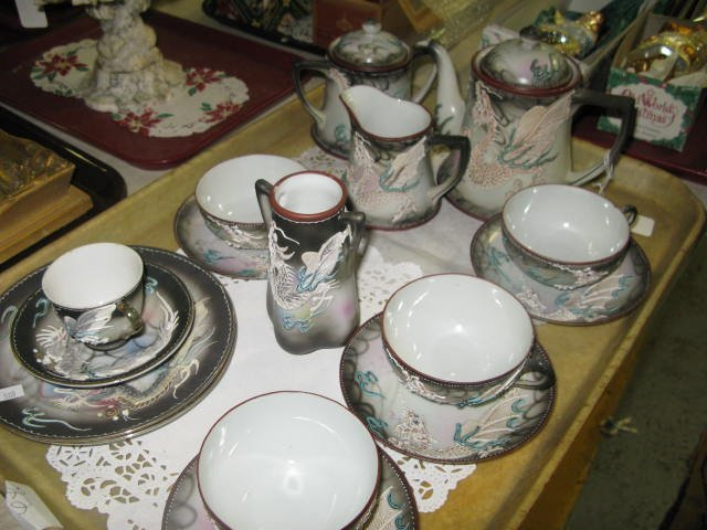 11: DRAGONWARE ORIENTAL TEA SET