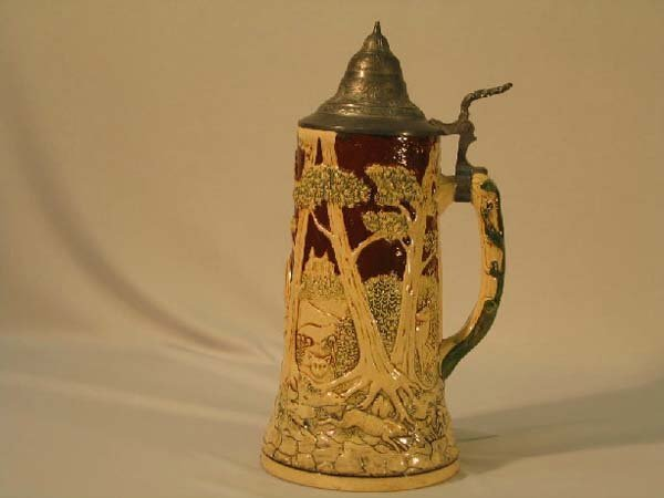 1: BEER TANKARD, GERMAN