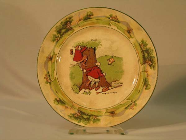 7: ROYAL WARWICK GOLF PLATE