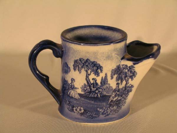 17: STAFFORDSHIRE SHAVING MUG