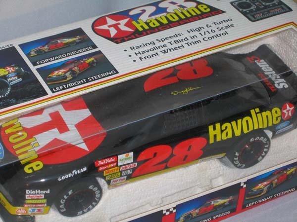 "353: RADIO CONTROLLED THUNDERBIRD ""HAVOLINE"""