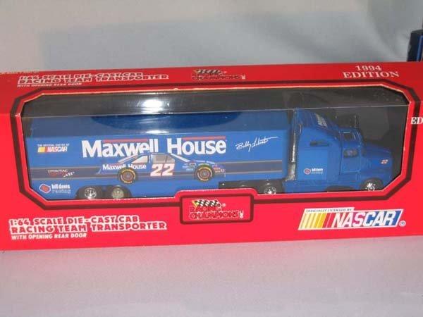 359: 1994 ED. NASCAR RACING TEAM TRANSPORTER