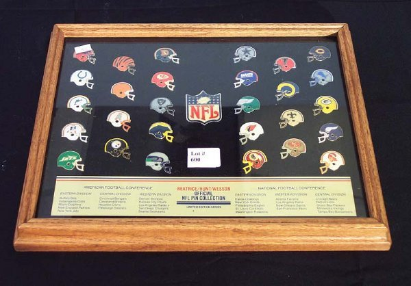 600: BEATRICE/HUNT-WESSON OFFICIAL NFL PIN CO