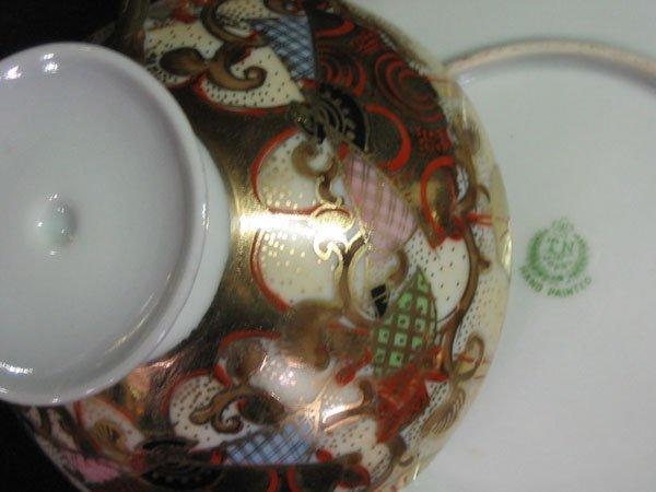 618: TAME & NAKAMURA JAPAN, NORITAKE TEA POT SET FOR 6. - 4