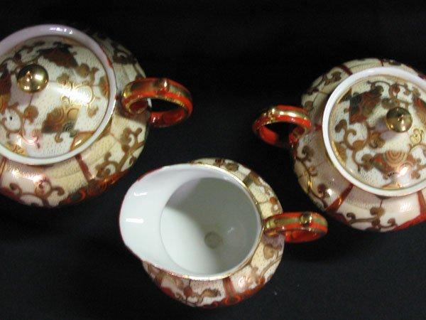 618: TAME & NAKAMURA JAPAN, NORITAKE TEA POT SET FOR 6. - 6