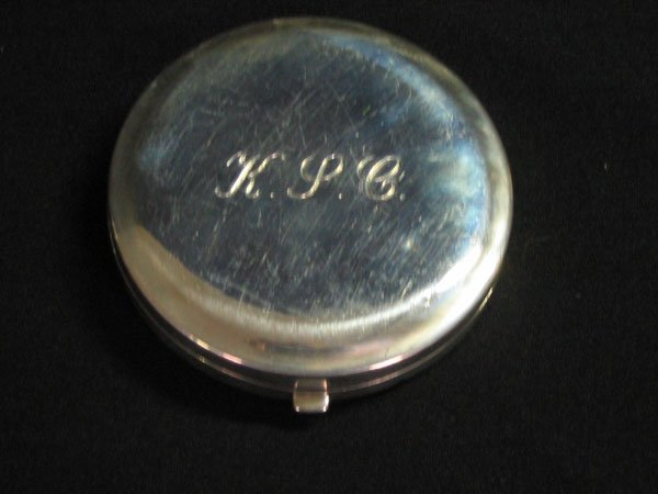624: TIFFANY & CO. STERLING 925 COMPACT INITIALS KPC.