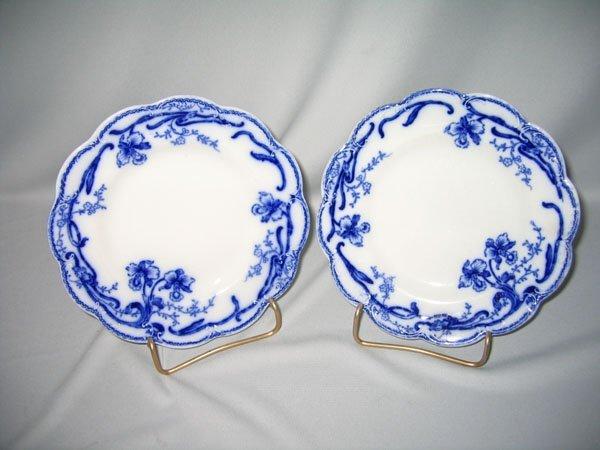1: FLO BLUE PLATE JOHNSON BROS.