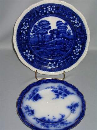 COPELAND PLATE & FLO BLUE PLATE