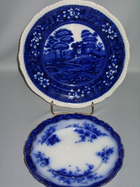5: COPELAND PLATE & FLO BLUE PLATE