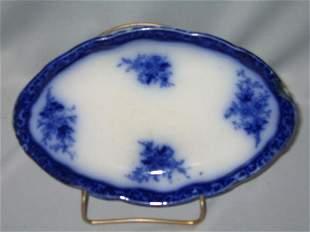 FLO BLUE RELISH DISH