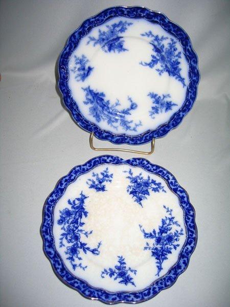 12: FLO BLUE DESSERT PLATES (2)