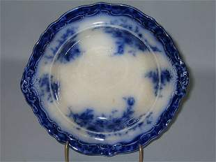 FLO BLUE DESSERT BOWL, TOURAINE