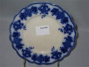 "FLO BLUE DESSERT PLATE ""CLARENCE"""