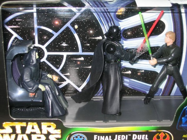402: STARWARS FINAL JEDI DUEL IN BOX