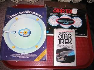 STAR TREK CONCORDANCE BOOK, BLUEPRINTS