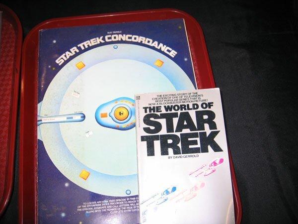 404: STAR TREK CONCORDANCE BOOK