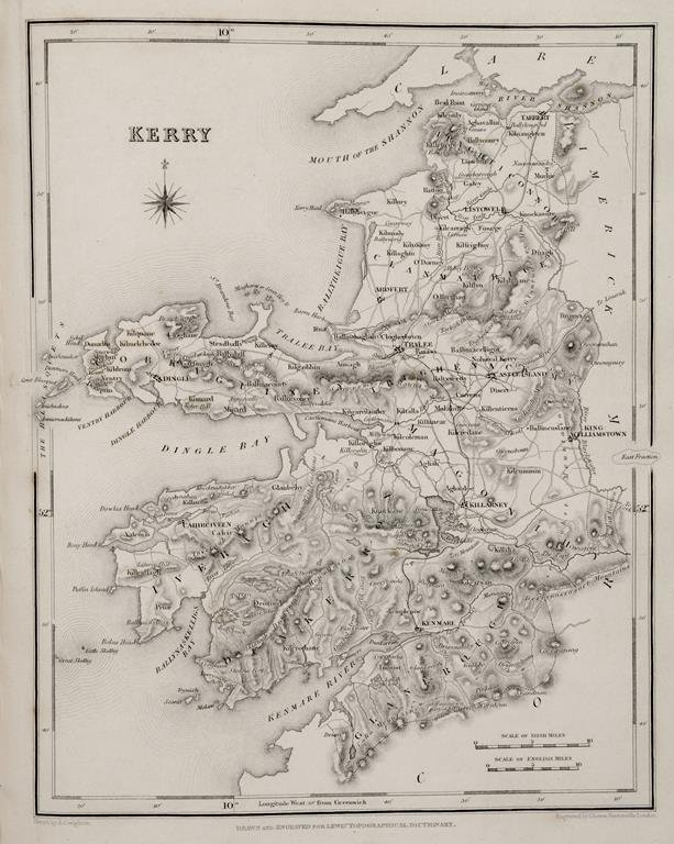 Lewis's Atlas comprising the Counties of Ireland and a