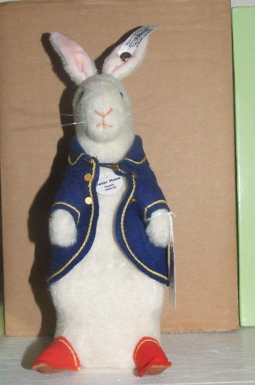 A Steiff limited edition Beatrix Potter teddy bear,