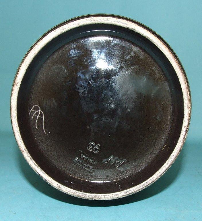 A Poole Pottery Aegean vase, 93, bears monogram of Alan - 3