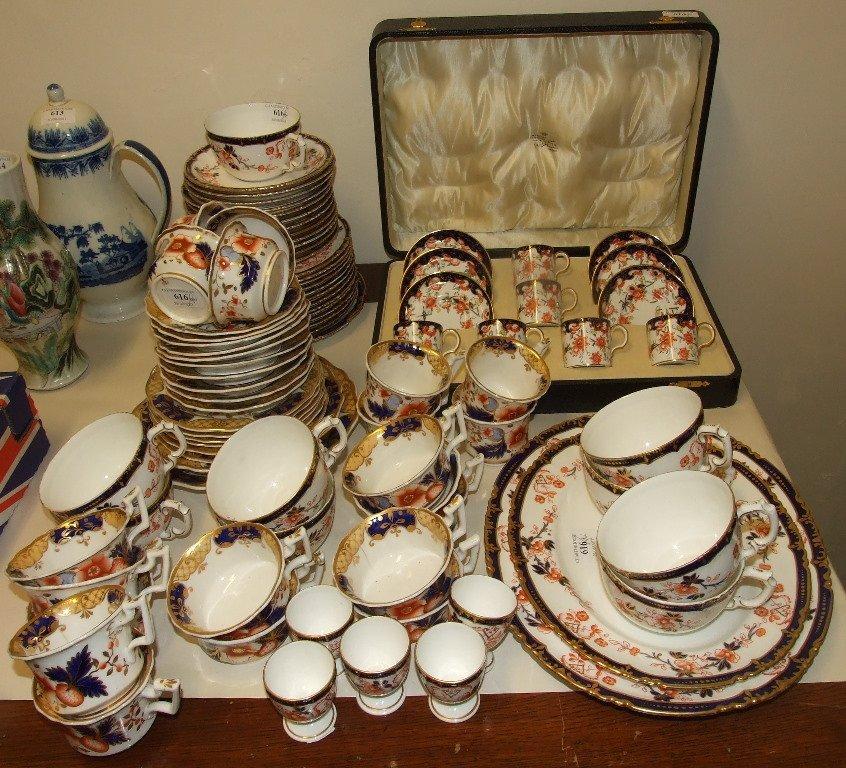 A Royal Crown Derby Imari pattern coffee set, 9259,