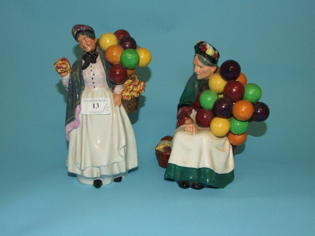 A Royal Doulton figure, The Old Balloon Seller, HN1315,