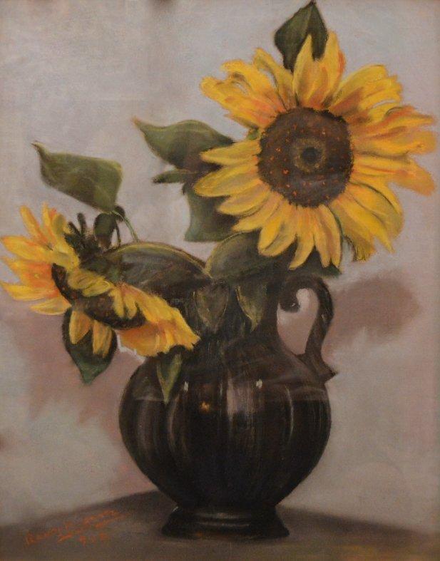 """Sunflowers"" by Alfredo Ramos Martinez"