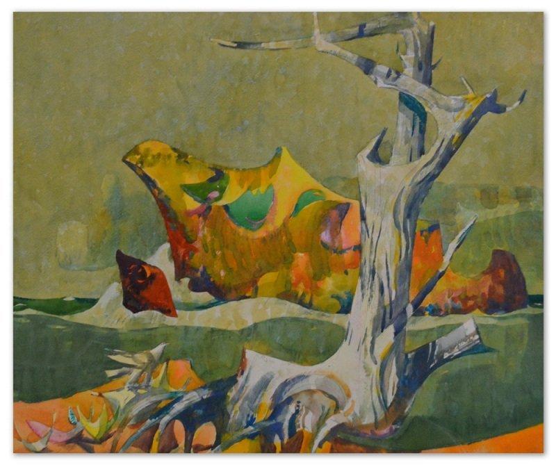 """""""Barking Rocks"""" by Millard Owen Sheets"""