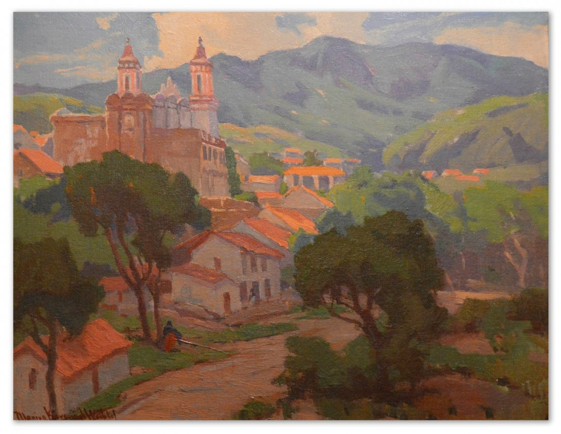 """""""Taxco, Mexico"""" by Marion Kavanaugh Wachtel"""