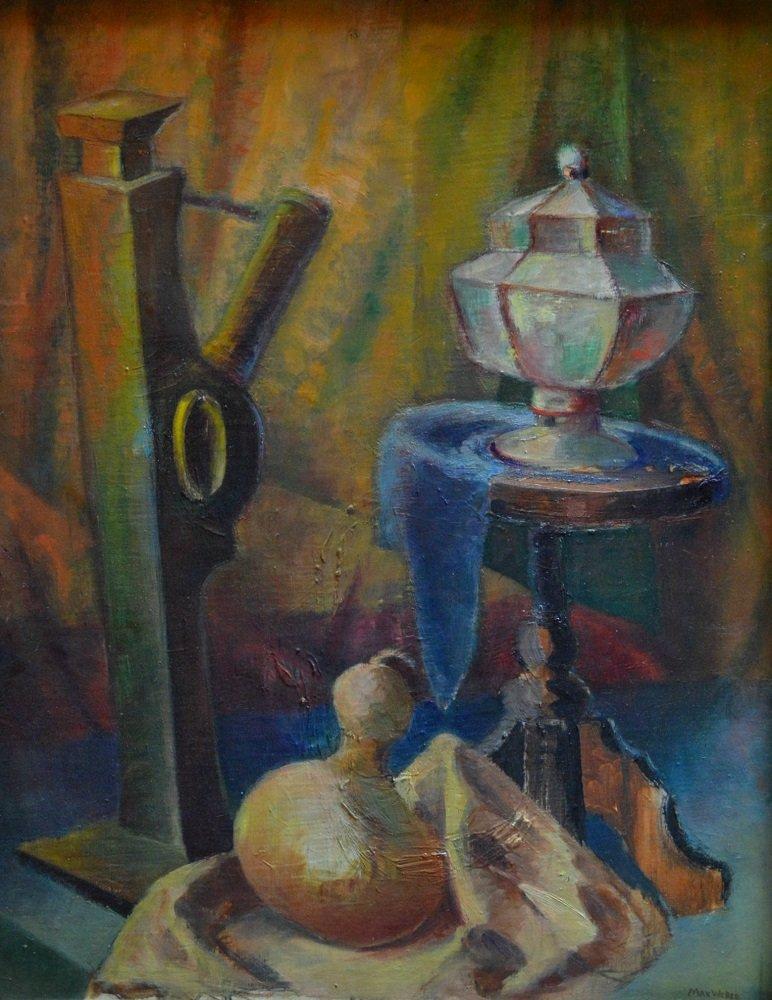 Still Life Circa 1920's by Max Weber