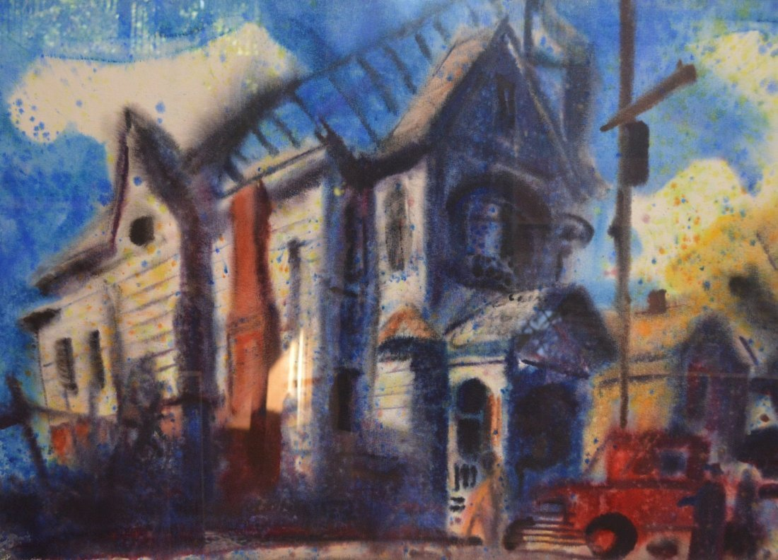 """""""Haunted House"""" by Emil Kosa Jr."""
