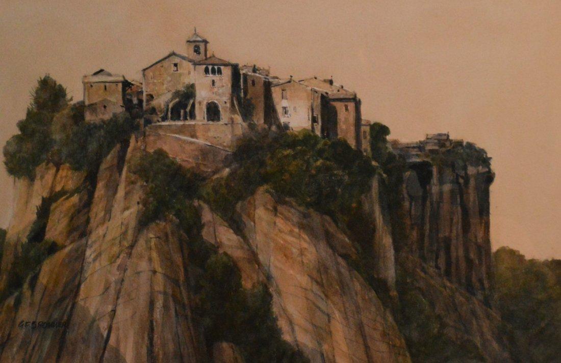 """""""Civita Di Bagno Regio"""" by Gerald F. Brommer"""