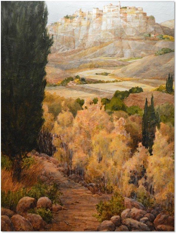 """Tuscan Landscape"" by Gerald F. Brommer"