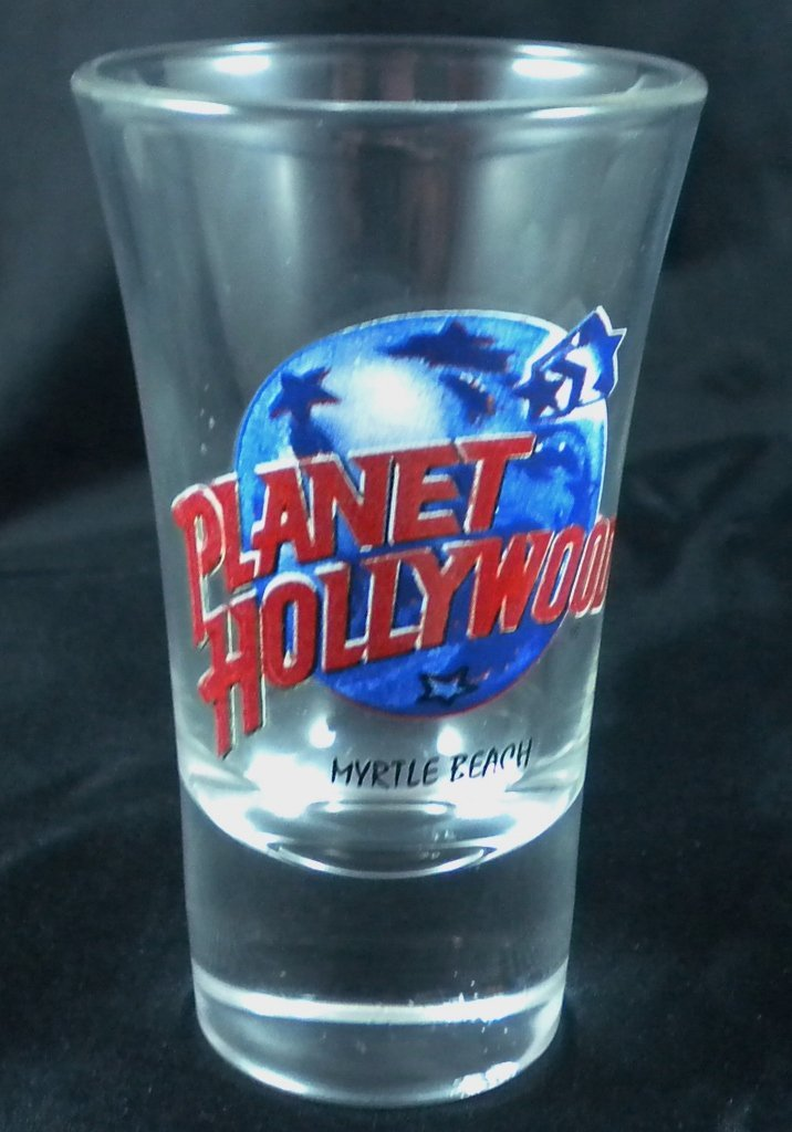 LOT OF 25 PLANET HOLLYWOOD Shot Glass, Myrtle Beach