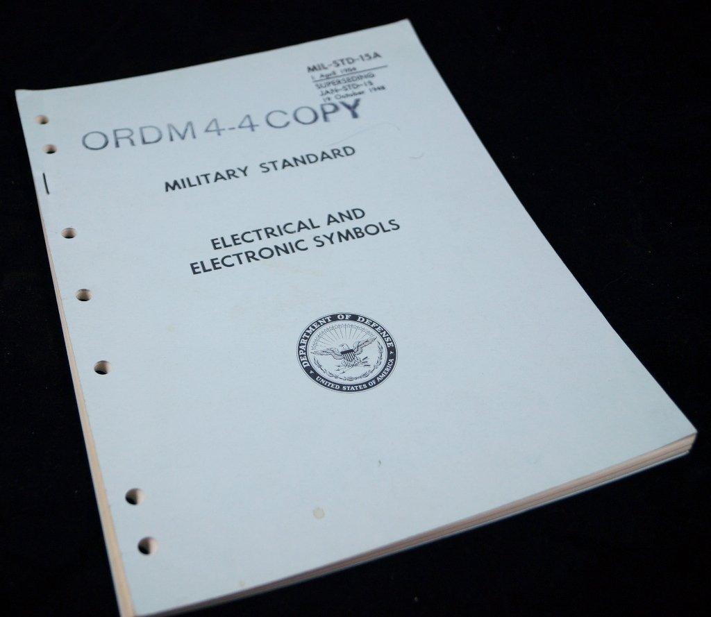 1948 Military Electrical Symbols Manualv Defense