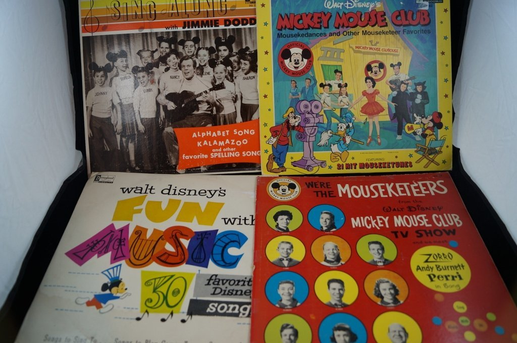 Jimmie Dodd, Mickey Mouse Club Mouseketeer Records
