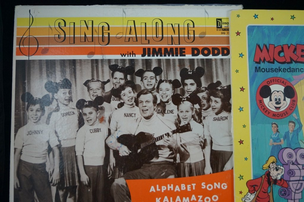 Jimmie Dodd, Mickey Mouse Club Mouseketeer Records - 2