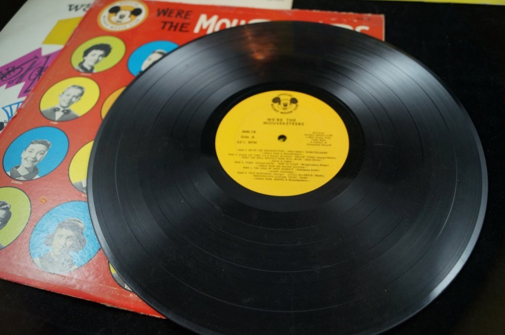 Jimmie Dodd, Mickey Mouse Club Mouseketeer Records - 3