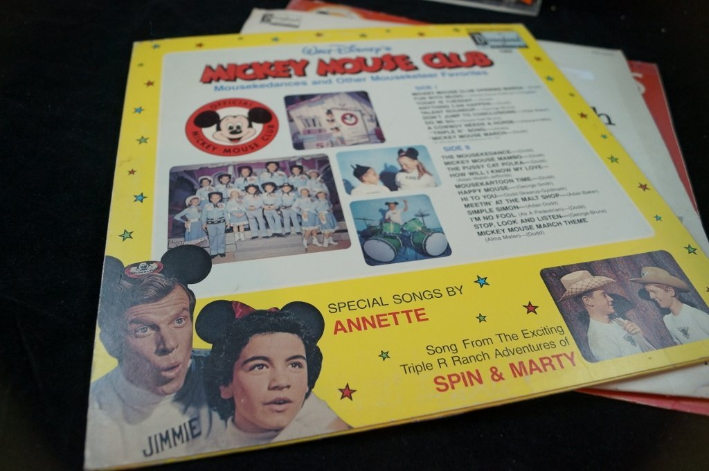 Jimmie Dodd, Mickey Mouse Club Mouseketeer Records - 5