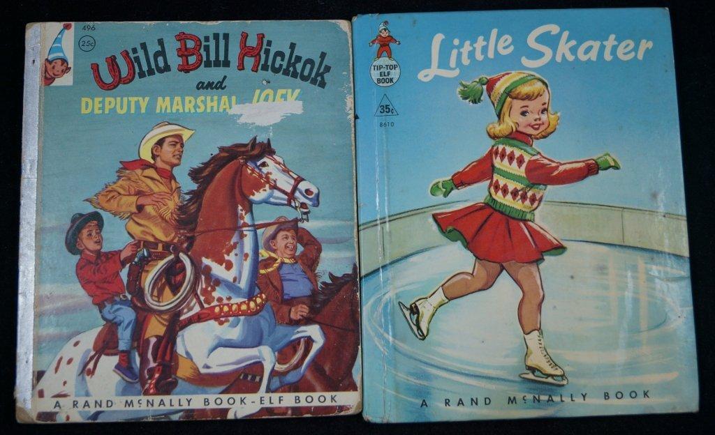 Rand McNally Elf Books, Wild Bill, Little Skater