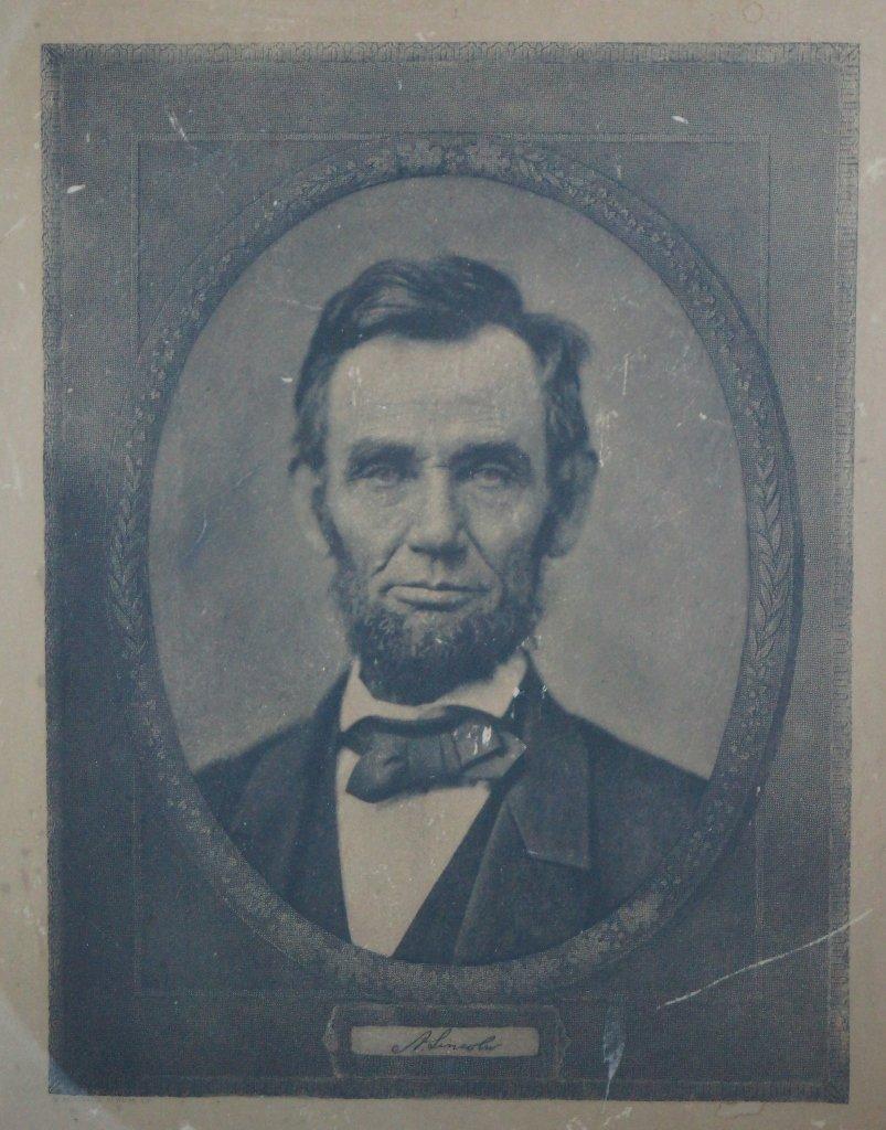 Reinthal & Newman Antique Abraham Lincoln Engraving