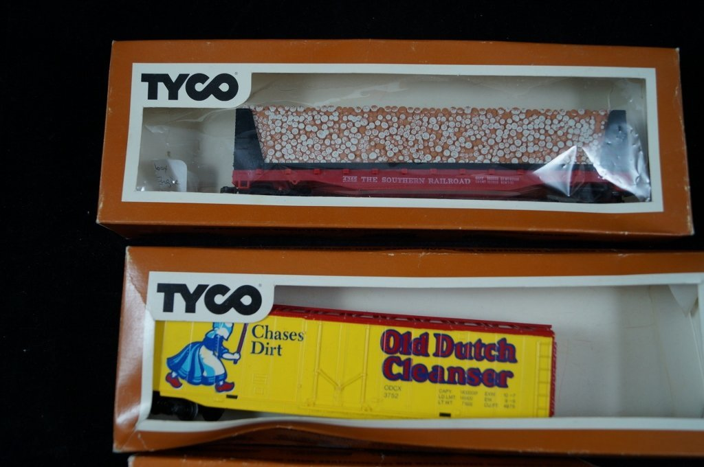 LOT Tyco HO Scale Model Electric Trains, Vintage - 3