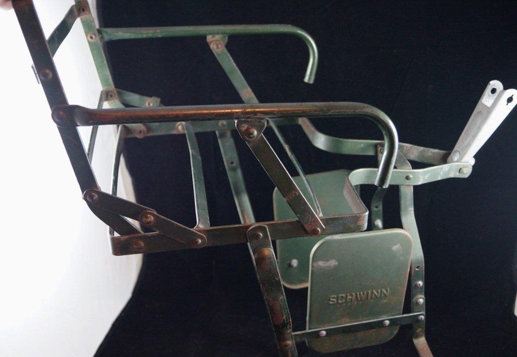 Vintage Schwinn Baby Child Bicycle Carrier Seat - 2