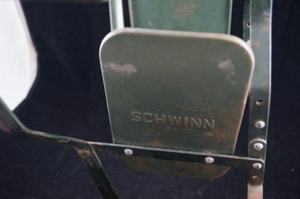 Vintage Schwinn Baby Child Bicycle Carrier Seat - 3