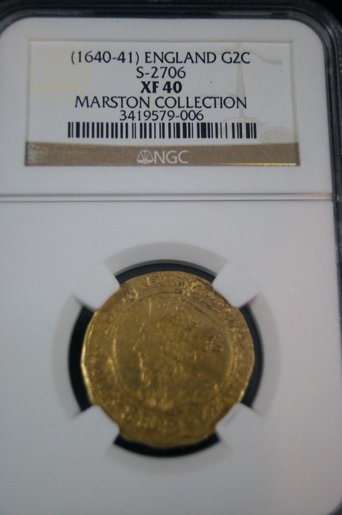 British British Great Britain Charles I (1640-41) Gold