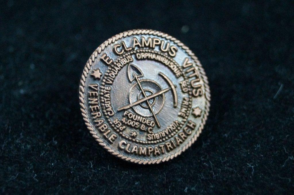 Masonic Fraternal Venerable Lapel Pin
