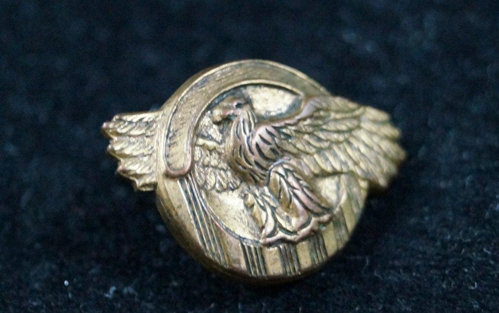 Vintage Eagle Masonic Shriners Lapel Pin