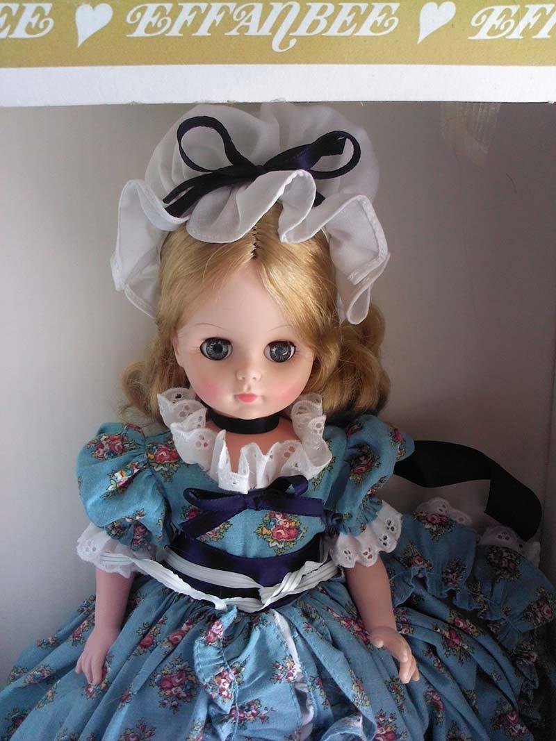 Vintage 1966 Effanbee Doll Original Prairie Dress - 2