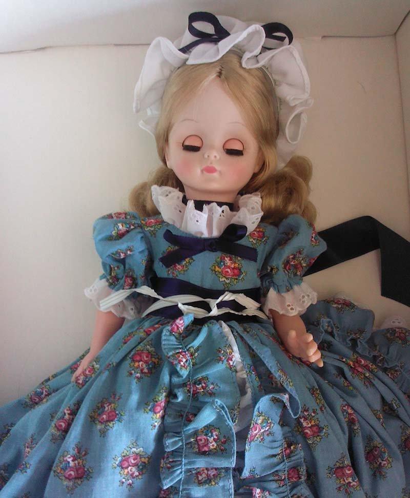 Vintage 1966 Effanbee Doll Original Prairie Dress - 3