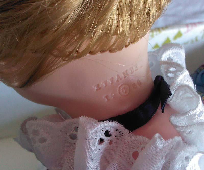 Vintage 1966 Effanbee Doll Original Prairie Dress - 4